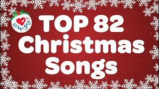 Top 82 Christmas Songs and Carols with Lyrics 2020 🎅 - Download this Video in MP3, M4A, WEBM, MP4, 3GP