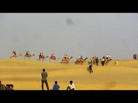 Thar Desert and Sam Sand Dunes- Jaisalme