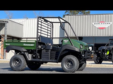 2021 Kawasaki Mule 4010 4x4 in Greenville, North Carolina - Video 1