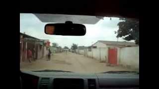 preview picture of video 'Luanda, Angola. Passeio pelos bairros. Imagens Chocantes!!!'
