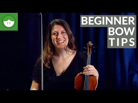 Violin Bow Exercises with Ludovica Burtone