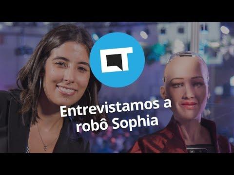"""Robô Sophia: """"Deveríamos ser parceiros, não substitutos"""""""