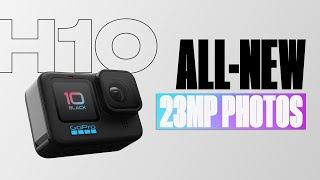 GoPro: HERO10 Black | 23MP Photos and 19.6MP Frame Grabs