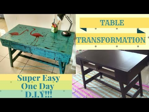 DIY - Super Easy Furniture Makeover With Chalk Paint!!! No Sanding!! No Priming Required!!! Mp3