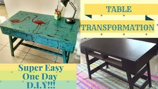 DIY - Super Easy Furniture Makeover With Chalk Paint!!! No Sanding!! No Priming Required!!!