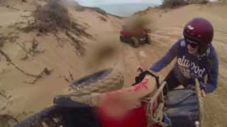 preview picture of video 'Coral Bay Quad Bike Tour Fail'