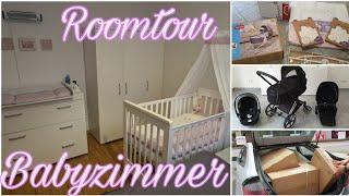 Unser Baby-/ Kinderzimmer, Kinderwagen & Baby Stuff I Roomtour I Vlog