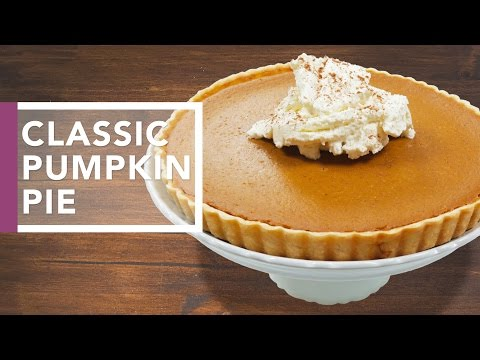 How to Make Pumpkin Pie | Holiday Dinner Recipes