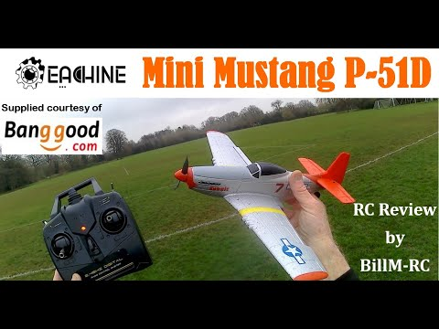 Eachine Mini Mustang P-51D review