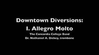 Downtown Diversions: I. Allegro Molto