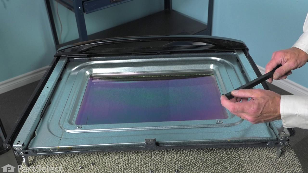 Replacing your Whirlpool Range Exterior Door Glass