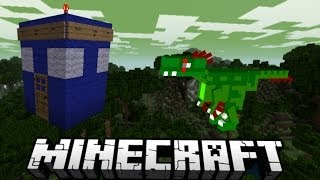 preview picture of video 'Minecraft Dinosaur Survival: RAPTOR ATTACK'