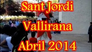 preview picture of video 'Sant Jordi - Vallirana - Abril 2014'