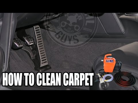How To Clean Carpet - SMART 1700 Extractor - Chemical Guys