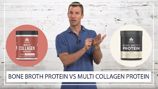 Multi Collagen Protein vs Bone Broth Protein (Which Should You Choose?) | Ancient Nutrition