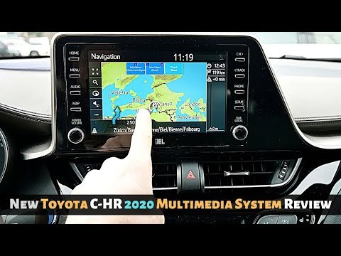 New Toyota C-HR 2020 Multimedia System Review