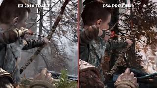 God of War  E3 2016 vs Retail Final Graphics Comparison