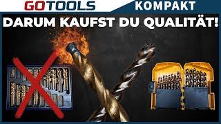 EIN UNTERSCHIED wie Tag und Nacht! | Test DeWalt Extreme Metallbohrern vs Standard-Metallbohrern