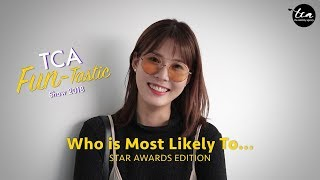 2 Days to Star Awards 2018 | TCA Fun-Tastic Show - Who is Most Likely To Get Drunk?!