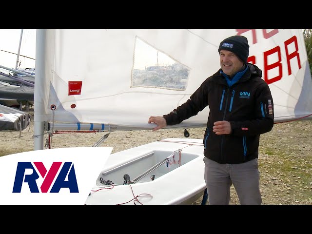Laser Sail Rigging Top Tips with Mike Lennon - Lennon Performance Products - Avoiding Sail Damage