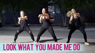 Gambar cover Taylor Swift - Look What You Made Me Do (Dance Fitness with Jessica)