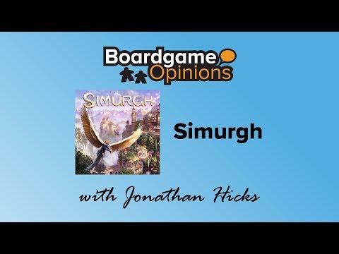 Boardgame Opinions: Simurgh