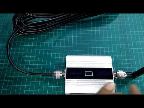 Chinese GSM Repeater/Booster Review.