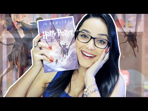 HARRY POTTER E A ORDEM DA F�NIX | Lendo Harry Potter | Nuvem Liter�ria