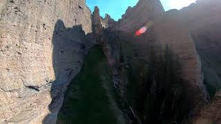 Mill Castles // Scenic FPV Freestyle Drone // TBS Tango 2