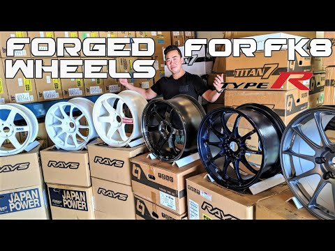 BEST FORGED WHEELS for Honda Civic Type R (FK8)