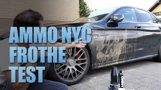 AMMO FROTHe Hoseless Lift Test Auto waschen nur mit Schaum