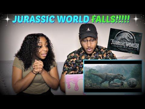 Jurassic World: Fallen Kingdom - Official Trailer REACTION!!!