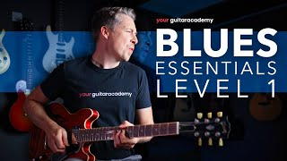 Essential Blues Guitar Lessons [Course Intro] Electric Blues For Intermediates