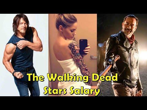 The Walking Dead Stars Salaries  - 2017