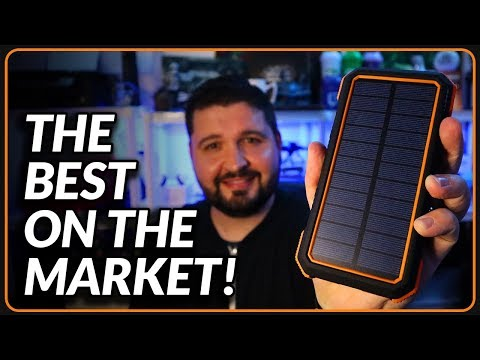 The Best Solar Charger Power Bank Review 2019!