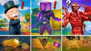 ALL NEW Bosses, Mythic Weapons & Keycard Vault Locations (Boss Monopoly, Boss Carnage, Cube, Venom)