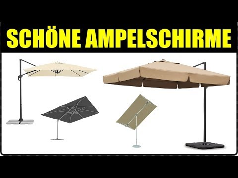 TOP 5 TERRASSENSCHIRME ★ Ampelschirm kaufen ★ Ampelschirm Rechteckig XXL, Ampelschirme Rhodos,...