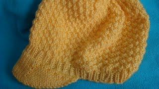 How to: Add a Brim to Your Knitted Hat