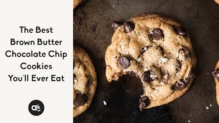 best chocolate chip cookie recipe with sea salt