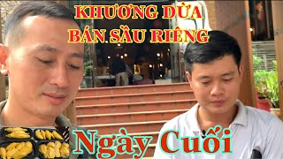KHUOC CONG Sell Durian So Do You Like Eating Durian | Tron Vlog