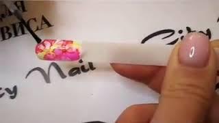 Акварельные чернила FLUID CityNail - фиолетовые  10 мл от компании Интернет-магазин Маник - видео