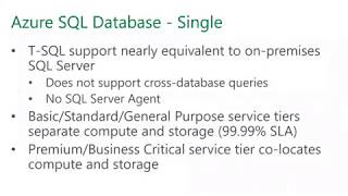 Azure SQL Database Unleashed – Managed Instance, Hyperscale, and More Horsepower! by Matt Gordon