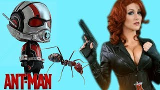 Ant Man Song vs Black Widow & Captain America ANT-MAN