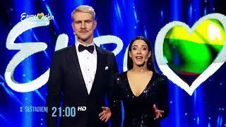 """LRT Televizija.  """"Eurovizija 2018"""". Nacionalinė atranka. l 2018-01-06 anonsas"""