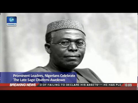 Download Prominent Leaders,Nigerians Celebrate The Late Sage Obafemi Awolowo HD Mp4 3GP Video and MP3