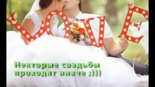 Свадебные курьезы 2015