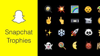 How To Get All Snapchat Trophies 2018🏆