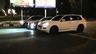 В Дагестане драг porsche mercedes