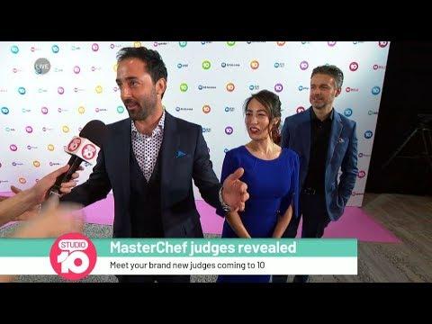 Meet The New 'MasterChef' Judges   Studio 10