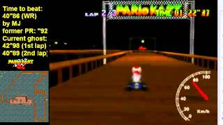 MK64 - World Record on Banshee Boardwalk - 40''83 (NTSC: 33''96) by Matthias Rustemeyer
